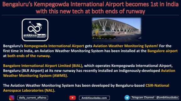 Bengaluru's Kempegowda International Airport becomes 1st in India with this new tech at both ends of runway