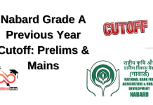 Nabard Previous Years Cut-off: Prelims, Mains & Final Cut off