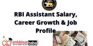 RBI Assistant salary,Career growth and Job Profile