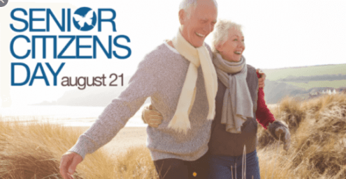 August 21: World Senior Citizen's Day 2020