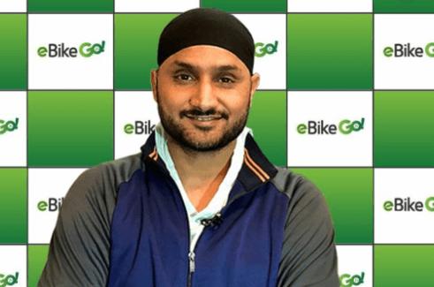 ebikeGo appoints Harbhajan Singh as brand ambassador