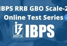 IBPS RRB GBO Scale-2 Online Test Series
