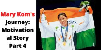 Mary Kom's Journey_ Motivational Story Part 4