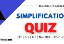 SIMPLIFICATION Quiz for Bank exam
