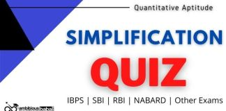 SIMPLIFICATION Quiz for Bank exam