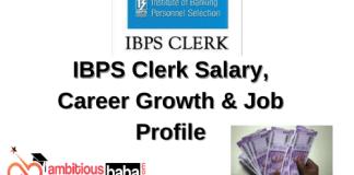 IBPS Clerk Salary, Career Growth & Job Profile
