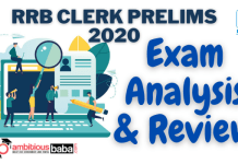 IBPS RRB Clerk Prelims Exam Analysis & Review 3rd Shift : 20th September 2020