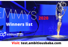 72nd Emmys Awards 2020: Full Winners list