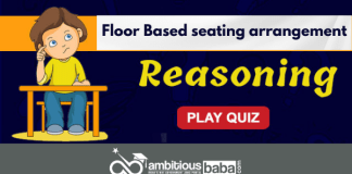Floor Based seating arrangement