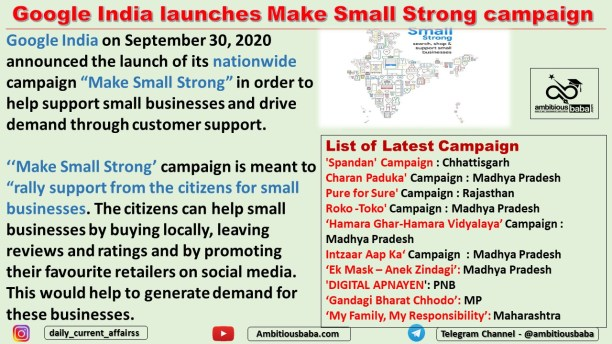 Google India launches Make Small Strong campaign