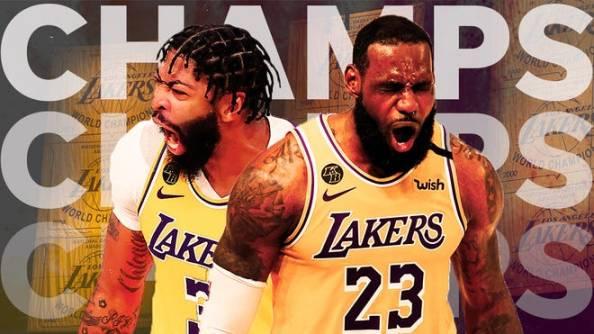 Los Angeles Lakers wins 17th NBA Championship