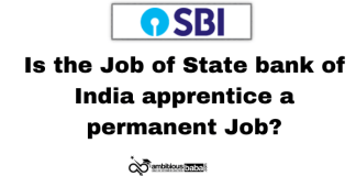 Is the job of State bank of India apprentice a permanent Job?