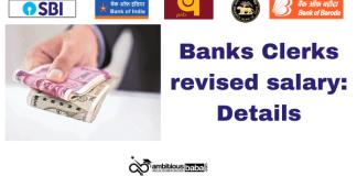 Banks Clerks revised salary