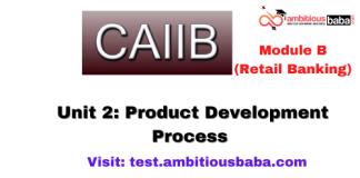 Product Development Process: CAIIB