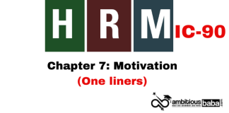 PARA 13.2|IC 90, HRM One Liner|Chapter-7 | Motivation