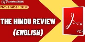 The hindu Review English
