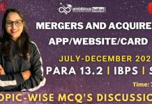 List of Mergers and App, website (July to December 2020): Download PDF