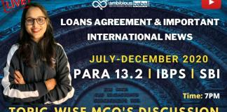 Loans and International news (July to December 2020): Download PDF