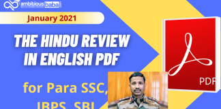 The Hindu Review Jan PDF 2021 :