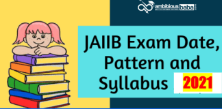 JAIIB exam pattern and syllabus 2021
