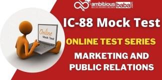 IC 88 Mock Test