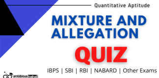 Mixture and Allegation