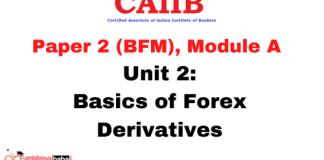 Basics of Forex Derivatives: CAIIB
