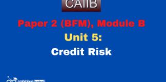 Credit Risk: CAIIB