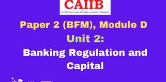 Banking Regulation and Capital: CAIIB