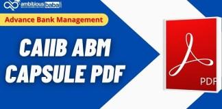 CAIIB Paper-1 Capsule PDF