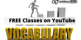 Vocabulary Free Classes on YouTube