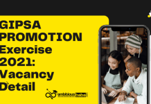 GIPSA Promotion Exercise 2021: Vacancy Detail