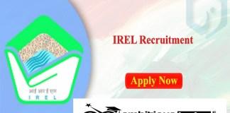 IREL Recruitment 2021 : 21 Post for Apprentice