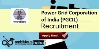 PGCIL Recruitment 2021 : 1110 Post for Apprentice