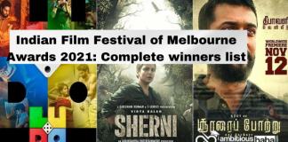 Indian Film Festival of Melbourne Awards 2021: Complete winners list