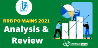 RRB PO Mains Exam Analysis & Review : 25th September 2021