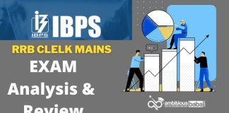 RRB Clerk Mains Exam Analysis & Review : 17th October 2021