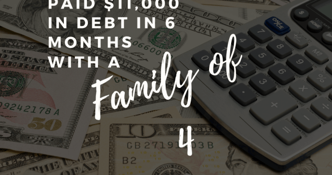 How we paid off $11,000 in debt