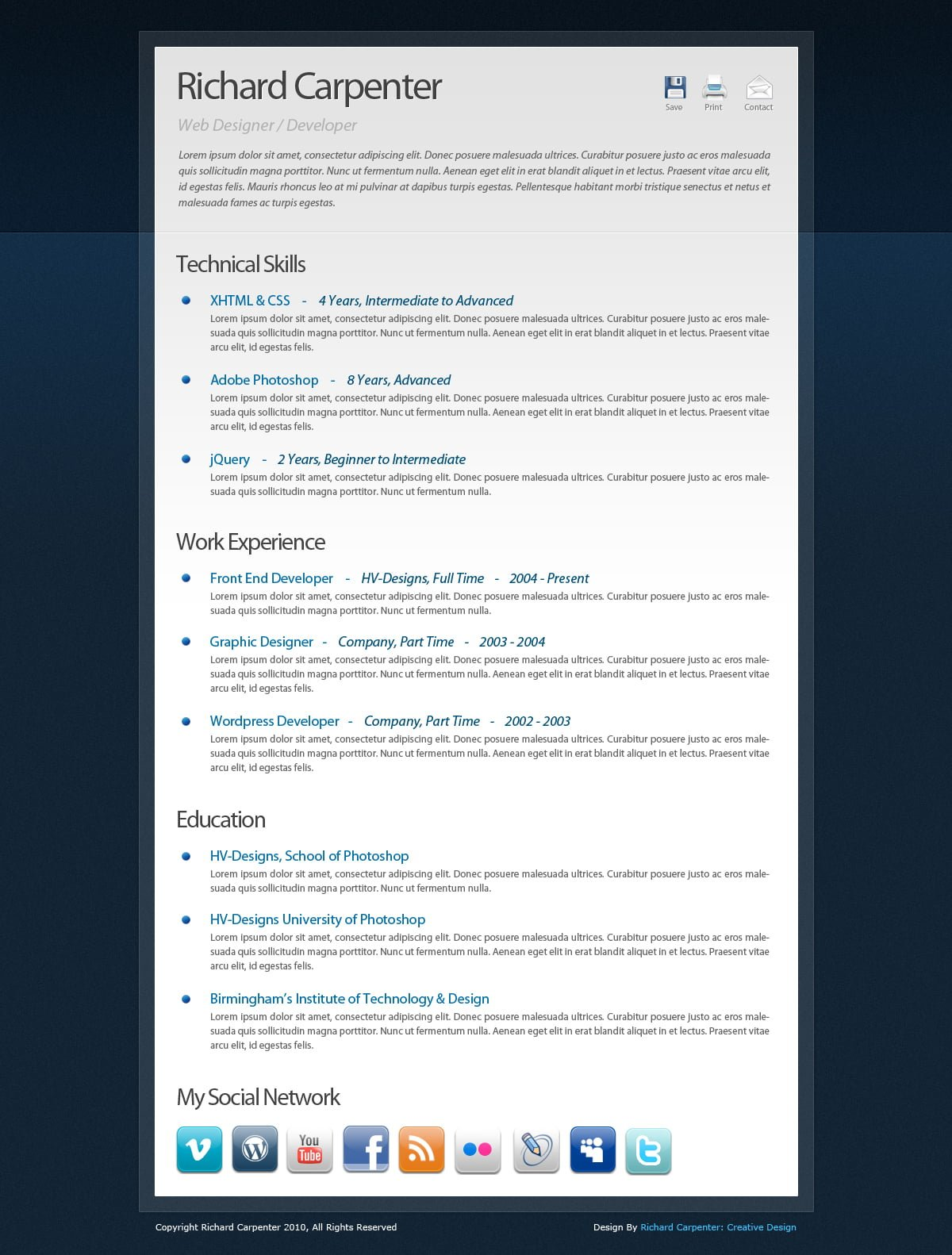 Interesting Resume Template Formatos De Plantillas De Curriculum Vitae Creativas