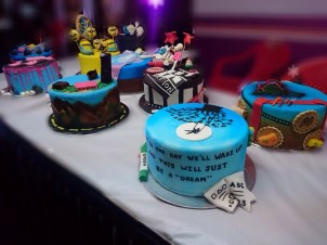 Beautiful cakes to good to eat