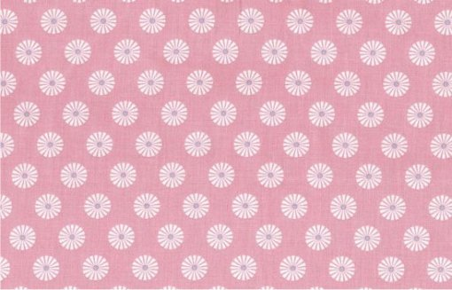ring a roses on pink by gutermann FPLT036