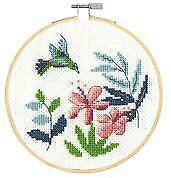Hummingbird – Counted Cross Stitch Kit DMC
