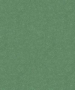green splatter dot dance at dusk markus fabric