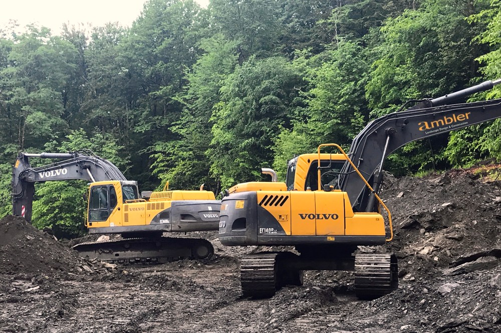 Site Work by Ambler Design located in Stowe, Vermont