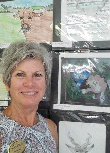 Cheryl Lewis, Art Teacher