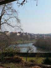 Views of Aschaffenburg along the river Main
