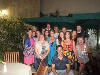 Last night Group Pic