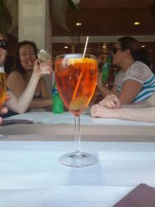 Last spritz in Venice