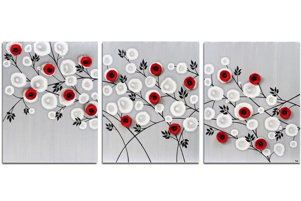 Black & Red Wall Art