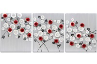 Black & Red Wall Art